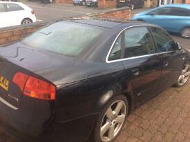 Absolute bargain, Automatic 2008 Audi A4 2.0 TDI S Line CVT 4dr, Black,