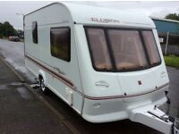 Beautiful 2 Berth Elddis Elusion with motor mover