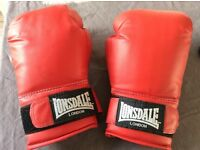 Lonsdale boxing gloves and glove inners