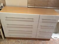 Chest of Drawers from Argos, White Gloss Fronts