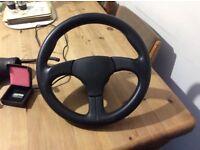 Porsche 968 steering wheel