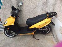 2009 125cc moped
