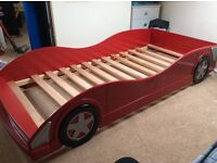Childs Racing Car style bed