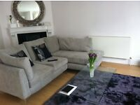 Next Right-hand Corner Sofa + Snuggle + Footstool, all for £450!