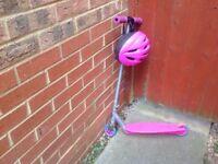 Girls razor scooter