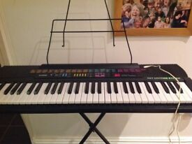 Casio CTK-520l....fantastic Christmas gift, for the budding musician
