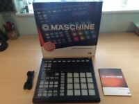 Native Instruments Maschine MK2 - Black (boxed ) with Machine 2 software