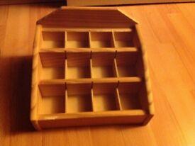 Wooden display box