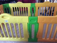 Baby vivo expandable playpen