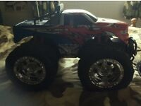 Remote control monster truck (rechargeable)