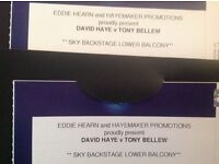 Haye vs Bellew Sky Backstage x 2