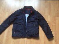 Tommy Hilfiger boys navy jacket aged 10 - light jacket