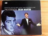 3 CD DEAN MARTIN BOX SET OF HIS MOST POPULAR SONGS