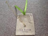 Ted Baker Gold Pendant Necklace