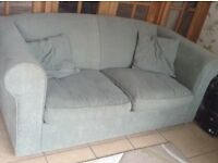 2 Seater sofa bed and armchair