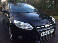 Ford Focus 1.6tdci Titanium x nav.. leather revers camera BUY FOR £42 PER WEEK