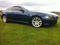 BMW 645CI 4.4 V8 COUPE AUTO MYSTIC BLUE 645*PANORAMIC ROOF* LONG MOT PX(630,650,745,cl500)