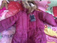 Brand new girls coat aged 7 to 8
