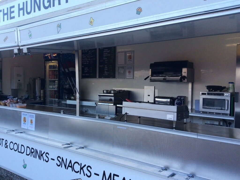 22ft mobile catering trailer ..fully fitted ..grab a bargain..
