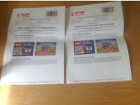 Alton Towers Tickets For Sale 5th September