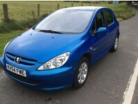 Peugeot 307 1.6,2004. Mot Jan and PART EX AVAILABLE...