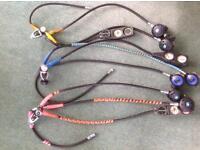 3 x diving regulator sets