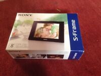 "8"" Sony Digital Photo Frame"
