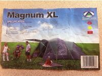 XL Tent suitable for 6/9 people used but clean
