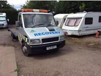Iveco recovery truck mot 29th Sep