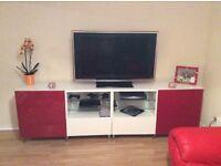 Tv unit with excellent storage