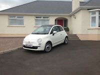2011 Fiat 500 1.2 Lounge 3dr (start/stop)£4,500 1 lady owner 2011 (61 reg), Hatchback