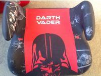 Darth Vader boys booster seat