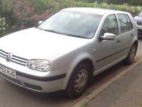 Volkswagen, GOLF, Hatchback, 2003, Manual, 1598 (cc), 5 doors