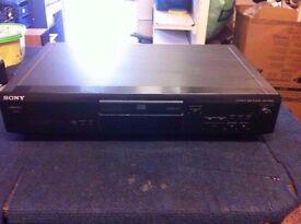 SONY CDP-XE210 CD PLAYER