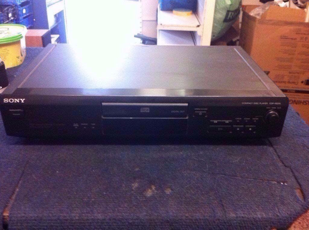 SONY CDP-XE210 CD PLAYER