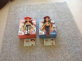 Disney toy story woody and Jessie