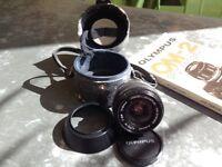 Olympus OM Zuiko 2.8/24mm wide-angle lens