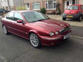 Jaguar se 2.5 automatic baige leather mot July 17. 38800 miles. Full service history