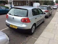 Golf full service history from vw new MOT resantly full service done new 4 new tyres