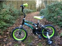 "14"" bike with stabilisers"
