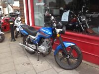 LEXMOTO ARROW 125 12 MONTHS MOT BRAND NEW ENGINE FITTED NIL MILES IDEAL COMMUTER OR LEARNER BIKE