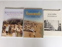 Three books on Bournemouth,past and present.