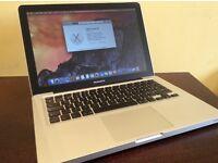 Lightning fast. Mid 2010 13' MacBook Pro