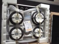 Beko 4 ring gas hob £150 RRP £329 new/graded 12 month Gtee
