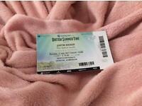 Justin Bieber BST ticket