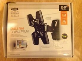 "23-37"" SINGLE ARM TV WALL MOUNT"