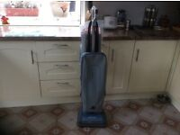 Oreck upright vacuum cleaner with spare bags. Good working order.