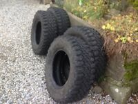 4x4 Tyres - INSA Turbo/ Dakar. 245 70/R16 . £190, for set of 4