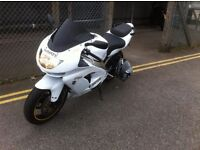 Kawasaki ZX9R white and Gold decals s reg swap for Discovery L R