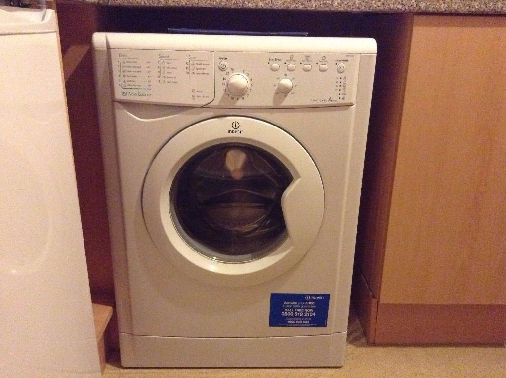 11 Indesit IWB71250 7kg 1200 Spin White LCD A+ Rated Washing Machine 1 YEAR GUARANTEE FREE DEL N FIT